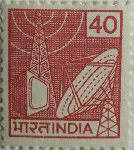 Sams Shopping Indian Definitive Stamps 7th Series TV Broadcasting Stamp