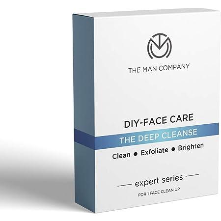 The Man Company Facial Kit (5 Steps Face Care) | Cleansing, Exfoliation, Detan