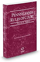 pennsylvania rules of court 2016