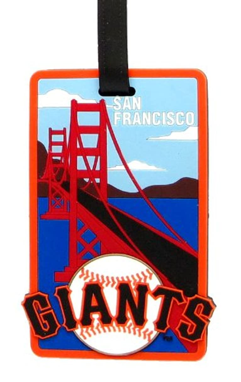 aminco San Francisco Giants - MLB Soft Luggage Bag Tag