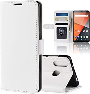 Vodafone Smart X9 Case Cover,Premium PU Leather Flip Folio Wallet Case with Card Slot,Stand Holder and Magnetic Closure [T...