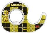 Scotch CAT136 - Cinta adhesiva de doble cara con dispensador (12,7 mm x 3,6 m), color transparente [Importado]