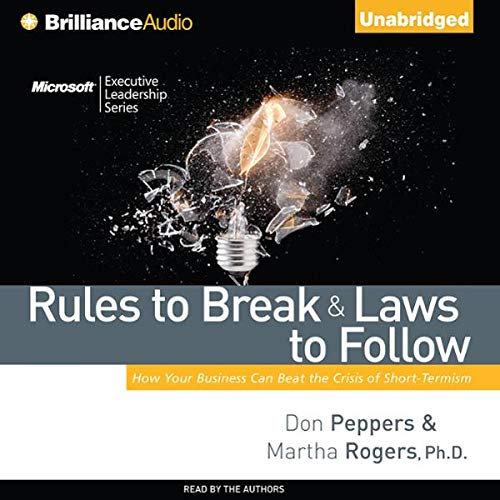 Rules to Break and Laws to Follow audiobook cover art