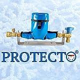 PROTECTO, Housse de protection de compteurs d'eau, ANTIGEL jusqu'à -23°C, 100% imperméable