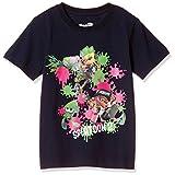 [スプラトゥーン] Tシャツ 半袖 KIDS キッズ Splatoon2 スプラトゥーン2 ナワバリバトル ネイビー 130
