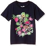 [スプラトゥーン] Tシャツ 半袖 KDS キッズ Splatoon2 スプラトゥーン2 ナワバリバトル 22823712 ネイビー 160