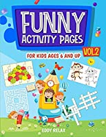 Funny activity pages for kids ages 6 and up VOL.2
