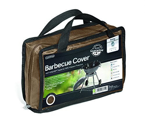 Gardman 35770 Housse pour Barbecue Charbon de Bois Polyester Brun 71 x 90 cm