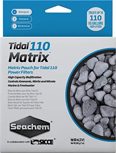 Seachem Matrix High Capacity Biofilter - Marine and Freshwater Tidal Filtration