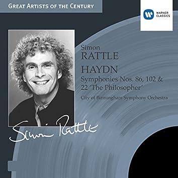 Haydn: Symphonies nos 86, 102 & 22 'The Philosopher'