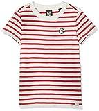 Scotch & Soda R´Belle Brutus AMS Blauw Colab Stripe tee with Chest Embroidery Camiseta, (Combo A 22), 164 (Talla del Fabricante: 14) para Niñas