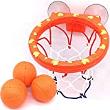 N/X Juguetes de interiorBasketball Hoop h Toy on Suckers Set for Outdoor Game of Interesting Indoor Sport Tool Kit for