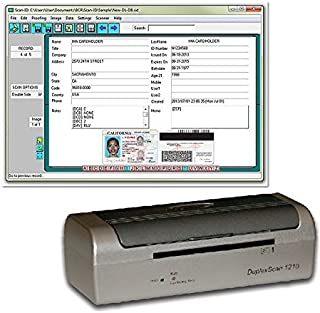Duplex Medical Insurance Card and ID Card Scanner (w/Scan-ID LITE, for Windows)