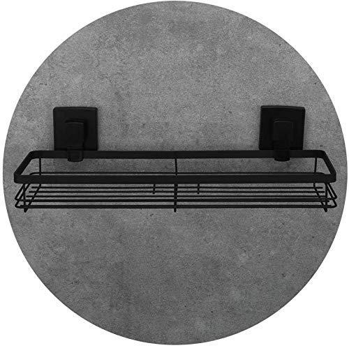 MERCB H.yina - Estante de ducha de acero inoxidable con succión al vacío para baño y cocina