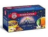 DEU Pompadour 1913 Infundido 1001 Noche con sabores orientales aromatizados con especias - 1 x 20 Bolsitas de té (50 gramos)