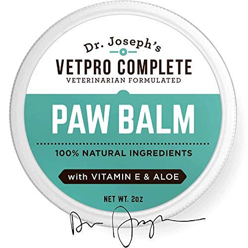Dog Paw Balm - Natural Vet Formulated Dog Paw...