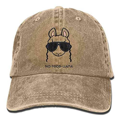 WJGJ Sombrero de Vaquero Hungry Sloth Gorra Personalizada atlética Ajustable para Adultos para Hombres y Mujeres Pattern40 Cap