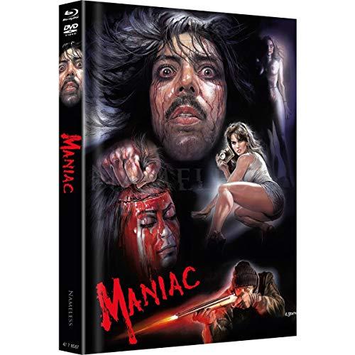 Maniac - Limited Uncut Mediabook Edition - SCIOTTI Motiv.- UHD - Blu-ray