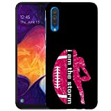 Inkmodo - Designer Hard Case for Galaxy A50 -  Vintage American Football Printed Slim Profile Cute Plastic Snap on Back Cover