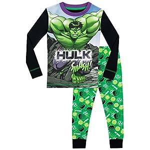 Marvel Pijamas para Niños The Incredible Hulk