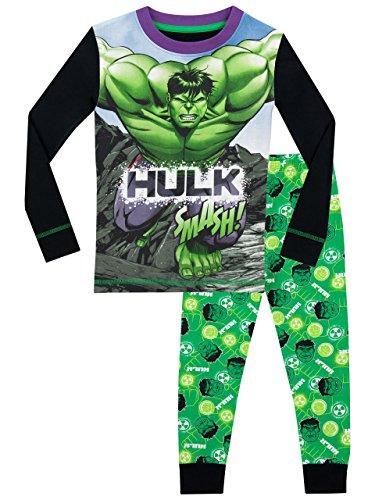 Marvel Jungen Der Unglaubliche Hulk Schlafanzug - 122