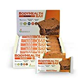 BodyHealth Bar: A Protein Energy Snack (Blondie Flavor, 12pk) with 10g of protein | Plant Based MCT's | Superfood Blend | Vegan | 1000mg of PerfectAmino per bar!