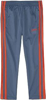 adidas Baby Boys' Iconic Tricot Pant (5, Grey/Orange)