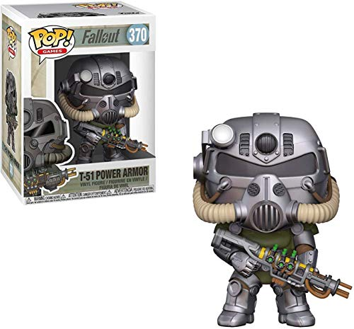 Funko - Pop! Vinyl: Games: Fallout S2: T-51 Power Armor Figura Coleccionable, Multicolor (33973)