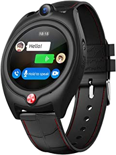 Laxcido Elderly GPS Smart Watch, 4G Heart Rate Blood Pressure Monitoring Smartwatch, Video Call Step Counter Geo-Fence SOS...
