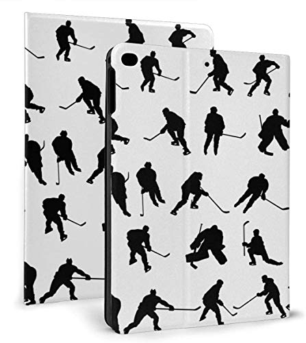 Funda Inteligente de Cuero PU para Hockey sobre Hielo Función de Reposo / activación automática para iPad Mini 4/5 7,9 'y iPad Air 1/2 9,7' Funda