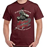 OOP Mens St Georges Day T-Shirt England Flag Union Jack Rugby English Football Top