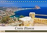 Costa Blanca - Die weiße Küste Spaniens (Tischkalender 2022 DIN A5 quer): Ein Bildkalender der bekannten Urlaubsregion Costa Blanca an der spanischen Mittelmeerküste (Monatskalender, 14 Seiten )