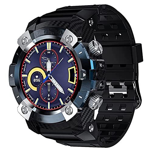 Rvlaugoaa Bluetooth 5.0 Smart Watch 1.3 Pulgadas Full Touch Smart Watch Fitness Tracker Multi-Idiomas Hombres Mujeres Reloj Inteligente para teléfonos iPhone/Android