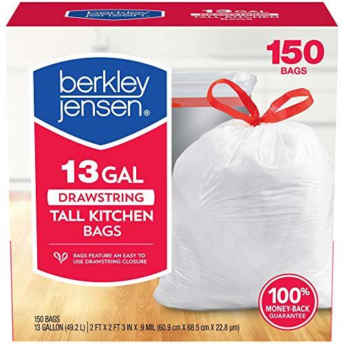 Berkley And Jensen Drawstring Trash, 150 Count