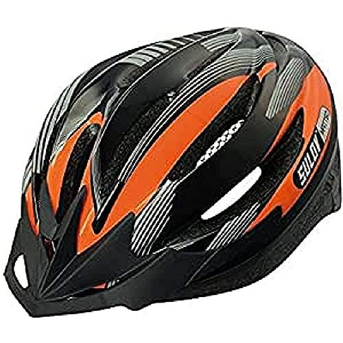 SULOV HELMA-MAT-M2_Orange_55-58cm - Casco da ciclismo Unisex, M, colore: Arancione arancione