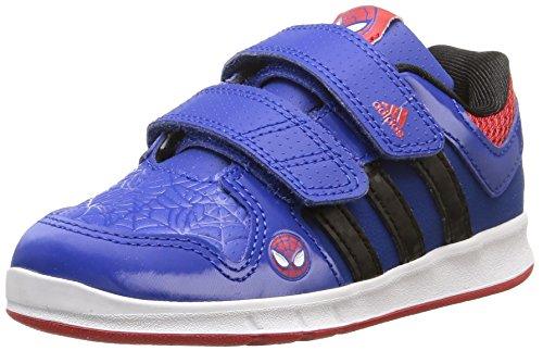 adidas Unisex-Kinder Lk Spider-Man Cf I Sneaker, Indigo, 19 EU
