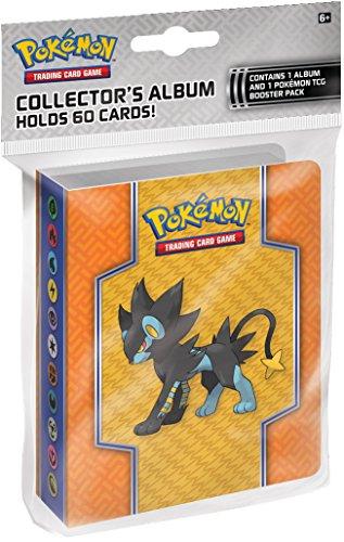 Pokemon TGC : XY – Rupture TURBO – Album 60 Pochettes – Classeur Vide + 1 Pack de Cartes Booster Version Anglaise