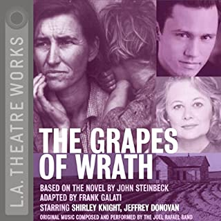 The Grapes of Wrath (Dramatized) cover art