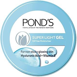 POND'S Super Light Gel Face Moisturiser with Hyaluronic Acid and Vitamin E, 73 g