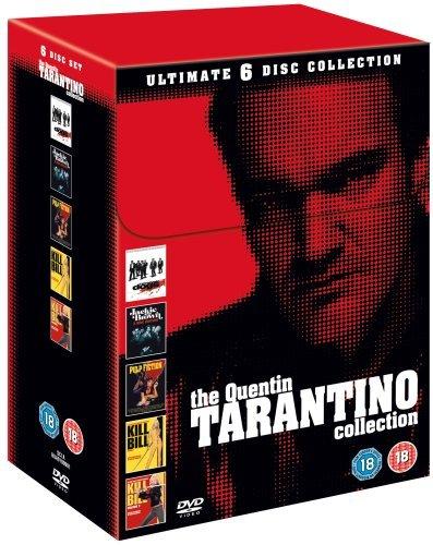 Tarantino Collection (Reservoir Dogs/Pulp Fiction/Jackie Brown/Kill Bill/Kill Bill 2) [Edizione: Regno Unito] [Reino Unido] [DVD]