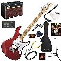 YAMAHA エレキギター 初心者 入門 人気のパシフィカ 人気のVOX Pathfinder10が入った本格14点セット PACIFICA112VM/RM(レッドメタリック)