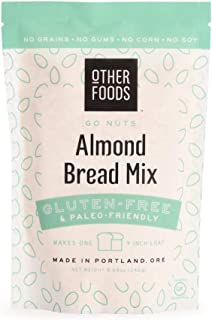 Sponsored Ad - Other Foods Low Carb Almond Flour Bread Mix, Gluten-free Paleo Friendly Baking Mix - Easy to Bake - 100% Gr...