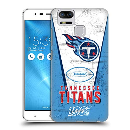 Head Case Designs Oficial NFL Banner 100 2019/20 Titanes de Tennessee Carcasa rígida Compatible con Zenfone 3 Zoom ZE553KL