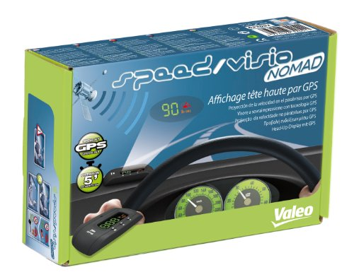 Valeo 632051 - Velocímetro de GPS con proyector para el Parabrisas