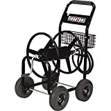 Best Garden Hose Carts - Ironton Garden Hose Reel Cart - Holds 5/8in Review