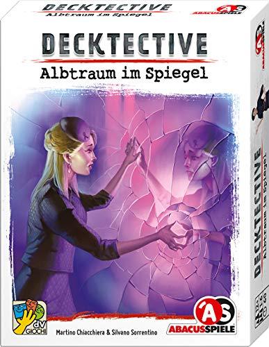 ABACUSSPIELE 38212 - Decktective - Albtraum im Spiegel, kooperatives Krimispiel, Kartenspiel