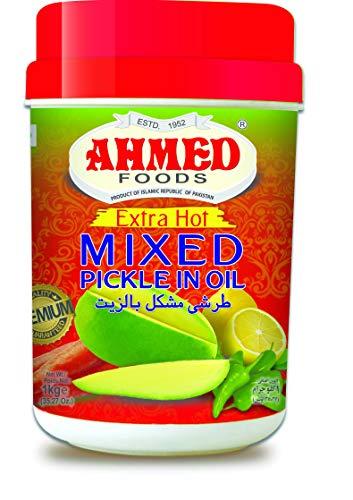 Ahmed Foods Extra HOT Gemengde Pickle in Olie, 1 kg 054529512469