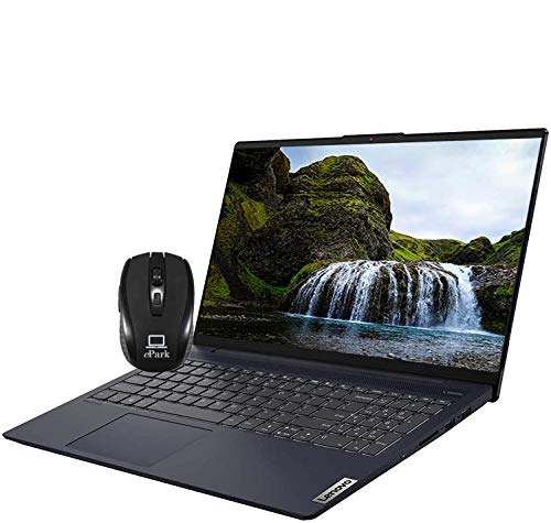 2020 Latest Lenovo IdeaPad 5 15 Laptop Intel Quad-Core i7-1065G7 15.6' FHD IPS Touchscreen Display 12GB DDR4 512GB PCIe SSD Fingerprint Backlit KB Dolby USB-C HDMI Win 10 Pro + iCarp Wireless Mouse