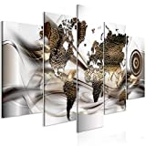 murando - Bilder Weltkarte 200x100 cm Vlies Leinwandbild 5