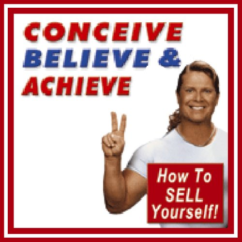 Conceive, Believe, and Achieve audiobook cover art